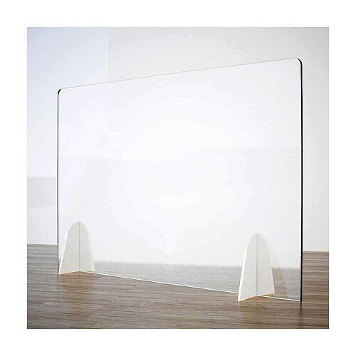 Schermo Parafiato Tavolo - Design Goccia krion h 50x90 1