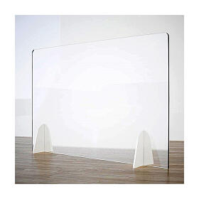 Table acrylic shield- Goccia Design krion h 50x0 cm s1