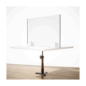 Table acrylic shield- Goccia Design krion h 50x0 cm s2