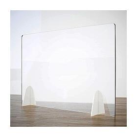 Cloison pour table - Design Goutte gamme krion h 50x140 cm s1