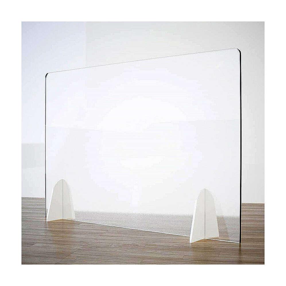 Barreira de proteção anti-contágio de mesa, linha Krion com Design Gota, 50x140 cm 3