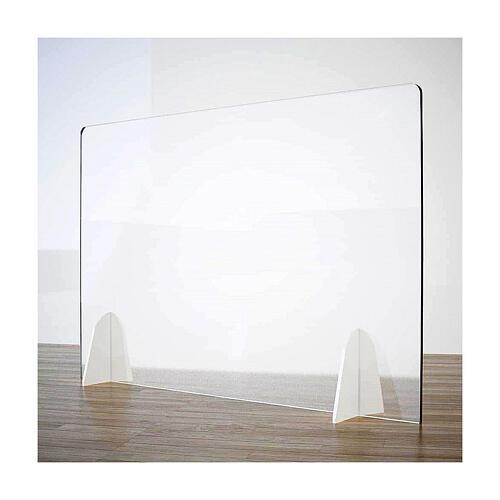 Plexiglass screen for table- Goccia Design h 50x180 cm 1