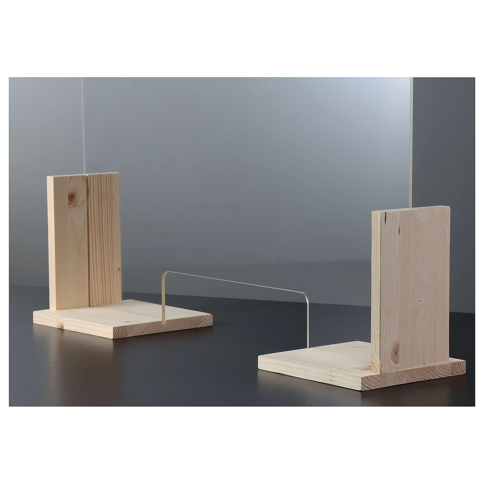 Bariera ochronna Linia Wood h 50x70 i okno h 8x32 3
