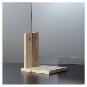 Bariera ochronna Linia Wood h 50x70 i okno h 8x32 s5