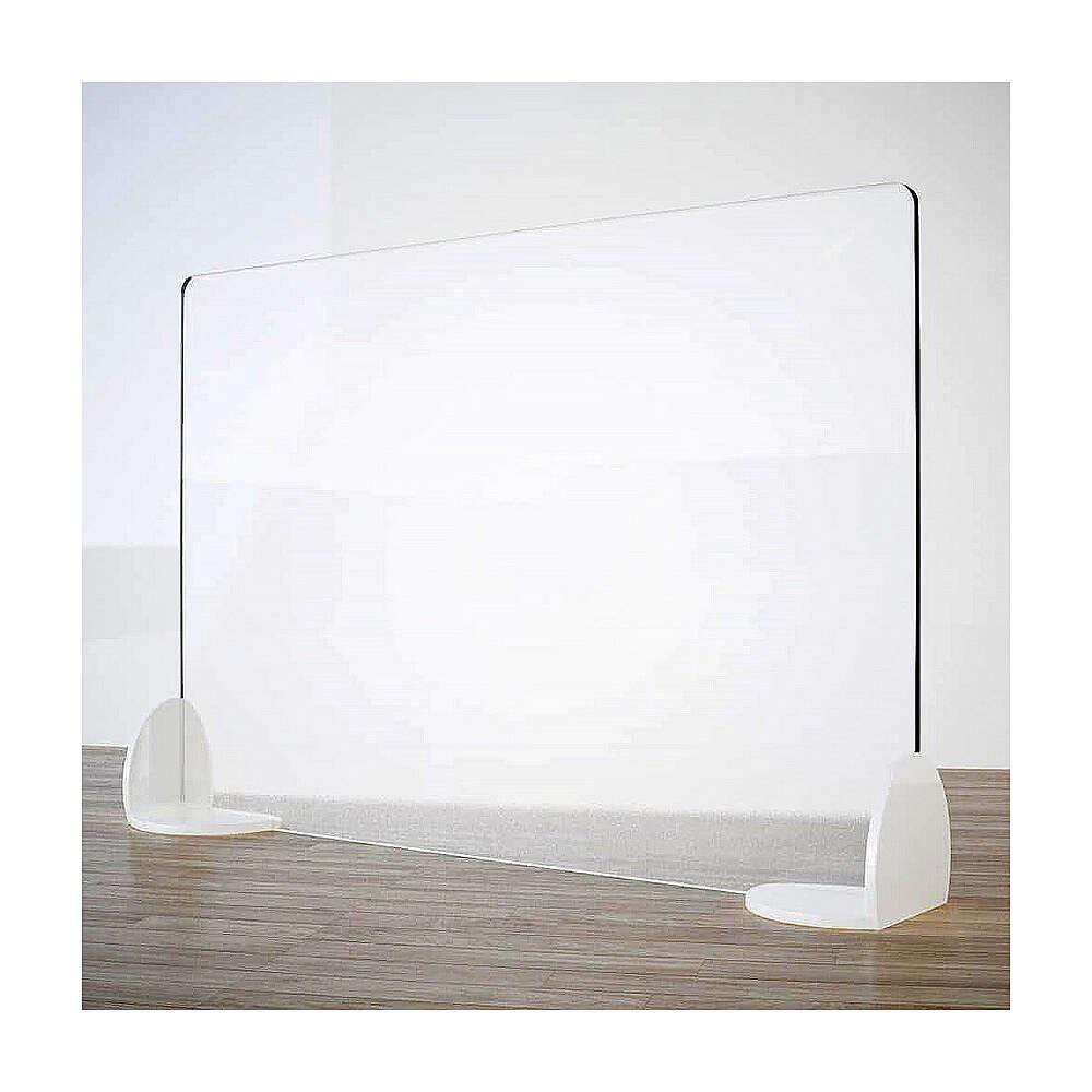 Écran de protection pour table - gamme Book en krion h 50x90 cm 3