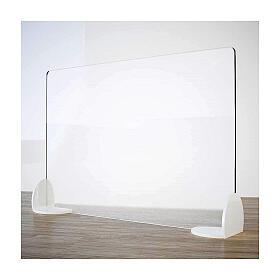 Barreira de proteção anti-contágio de mesa, linha Krion, Design Book, 50x90 cm s1