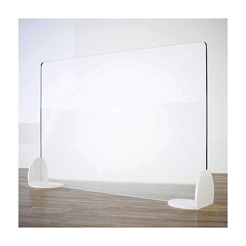 Barreira de proteção anti-contágio de mesa, linha Krion, Design Book, 50x180 cm 1