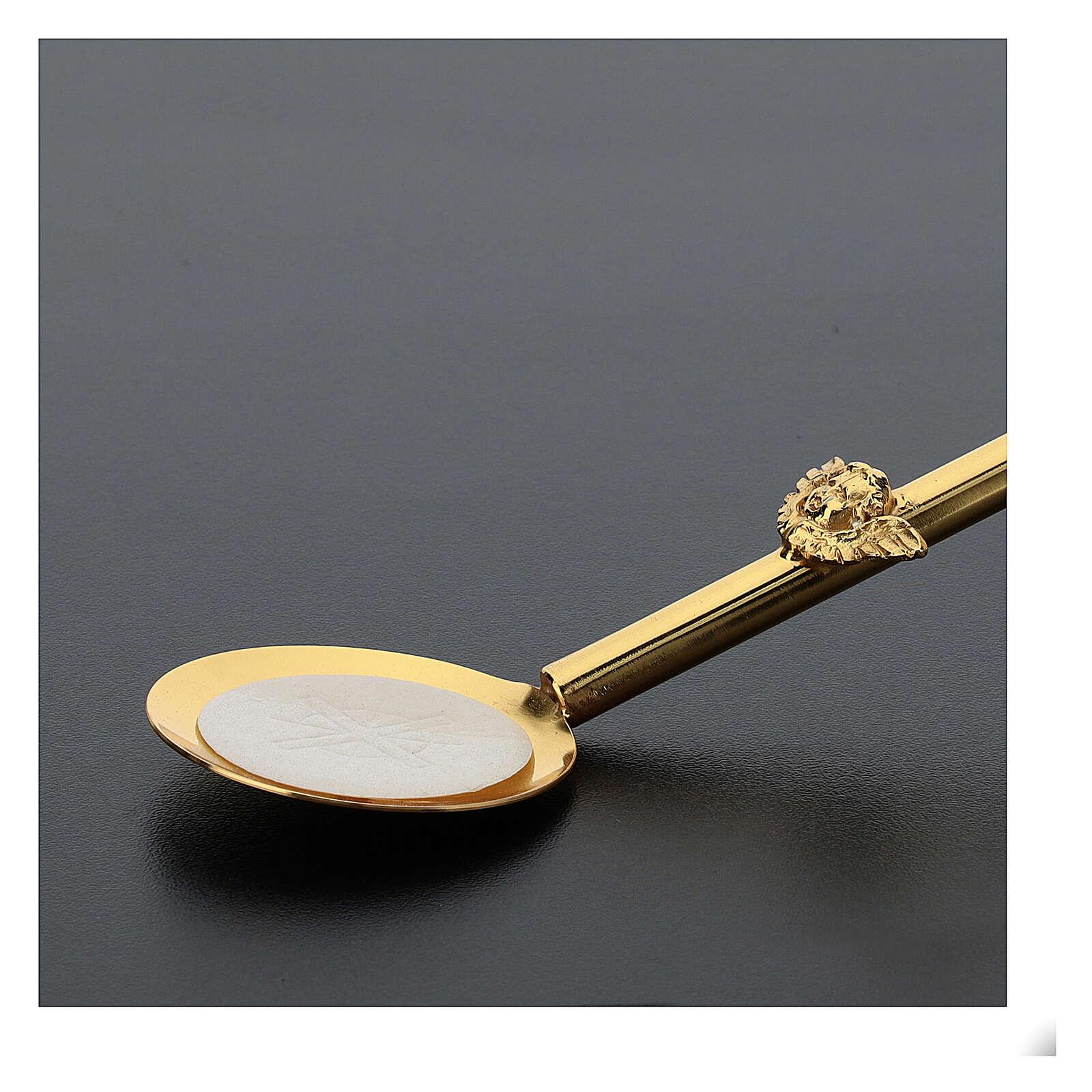 Perche avec petite assiette pour Eucharistie 45 cm 3
