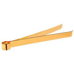 Pinzas doradas para Eucaristía 16 cm s1