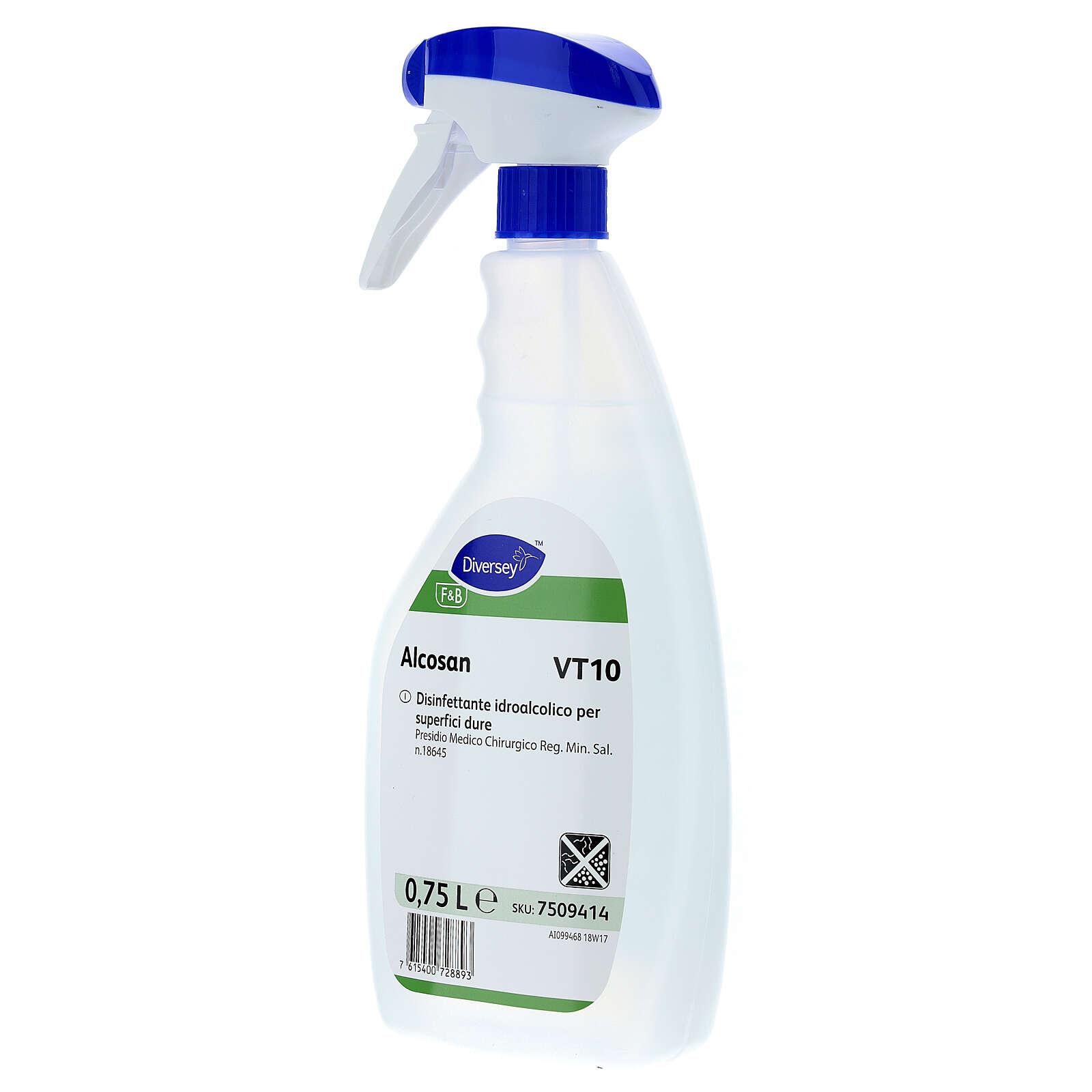 Disinfettante per superfici professionale Alcosan VT10 750 ml 3