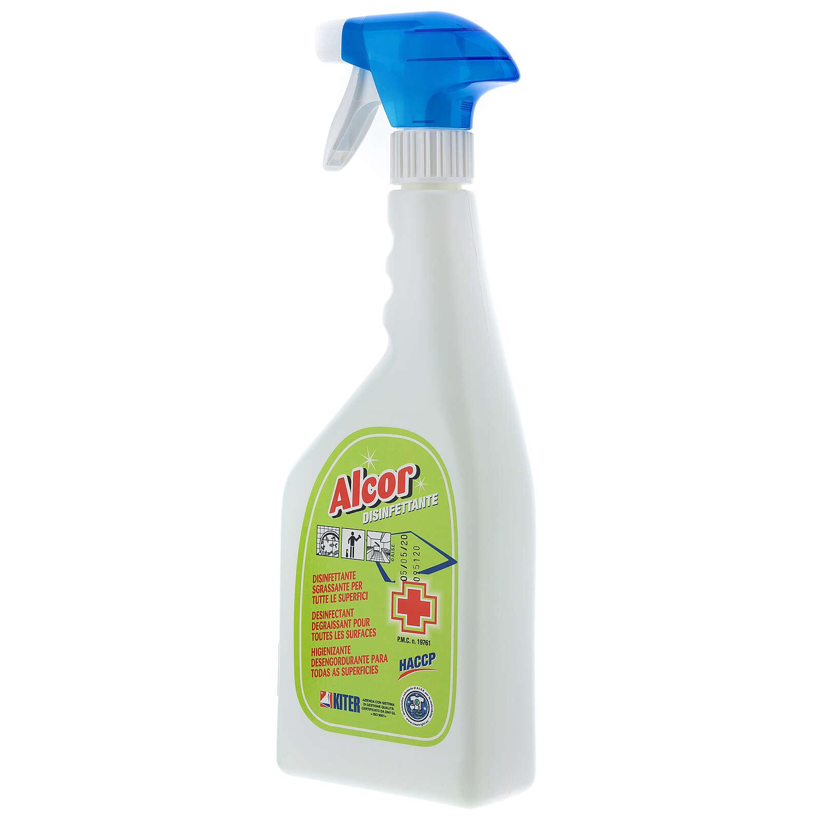 Desinfectante Espray profesional Alcor 750 ml 3
