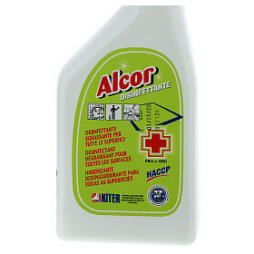Désinfectant Spray professionnel Alcor 750 ml s2