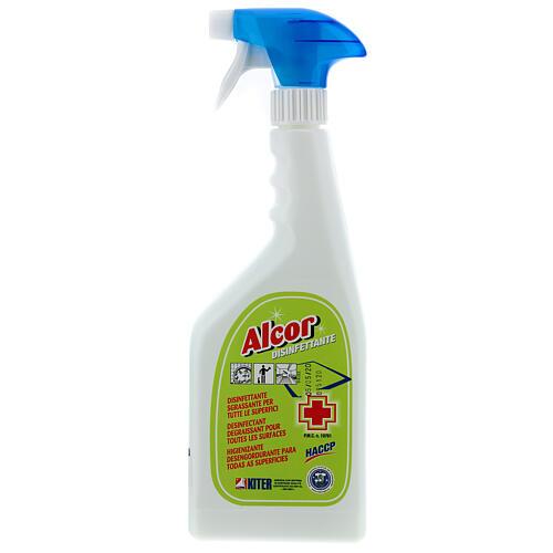 Désinfectant Spray professionnel Alcor 750 ml 1
