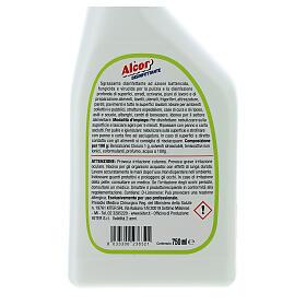 Disinfettante Spray professionale Alcor 750 ml s4