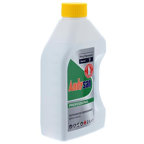 Détergent assainissant professionnel Andysan 2 litres 5