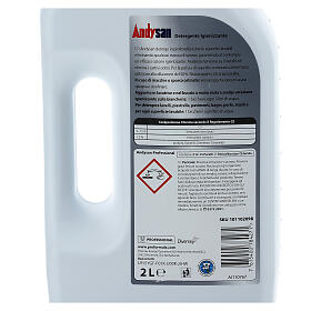 Detergente igienizzante professionale Andysan 2 litri s4
