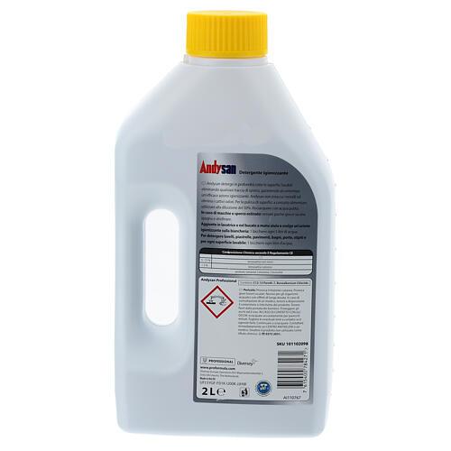 Detergente higienizante profissional Andysan 2 litros 2