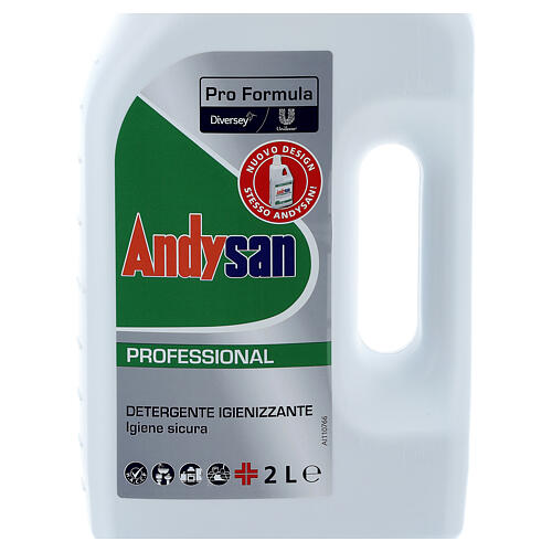 Detergente higienizante profissional Andysan 2 litros 3
