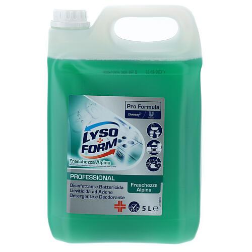 Cleansing tank Pro Formula Lysoform Alpine freshness, 5 liters 1