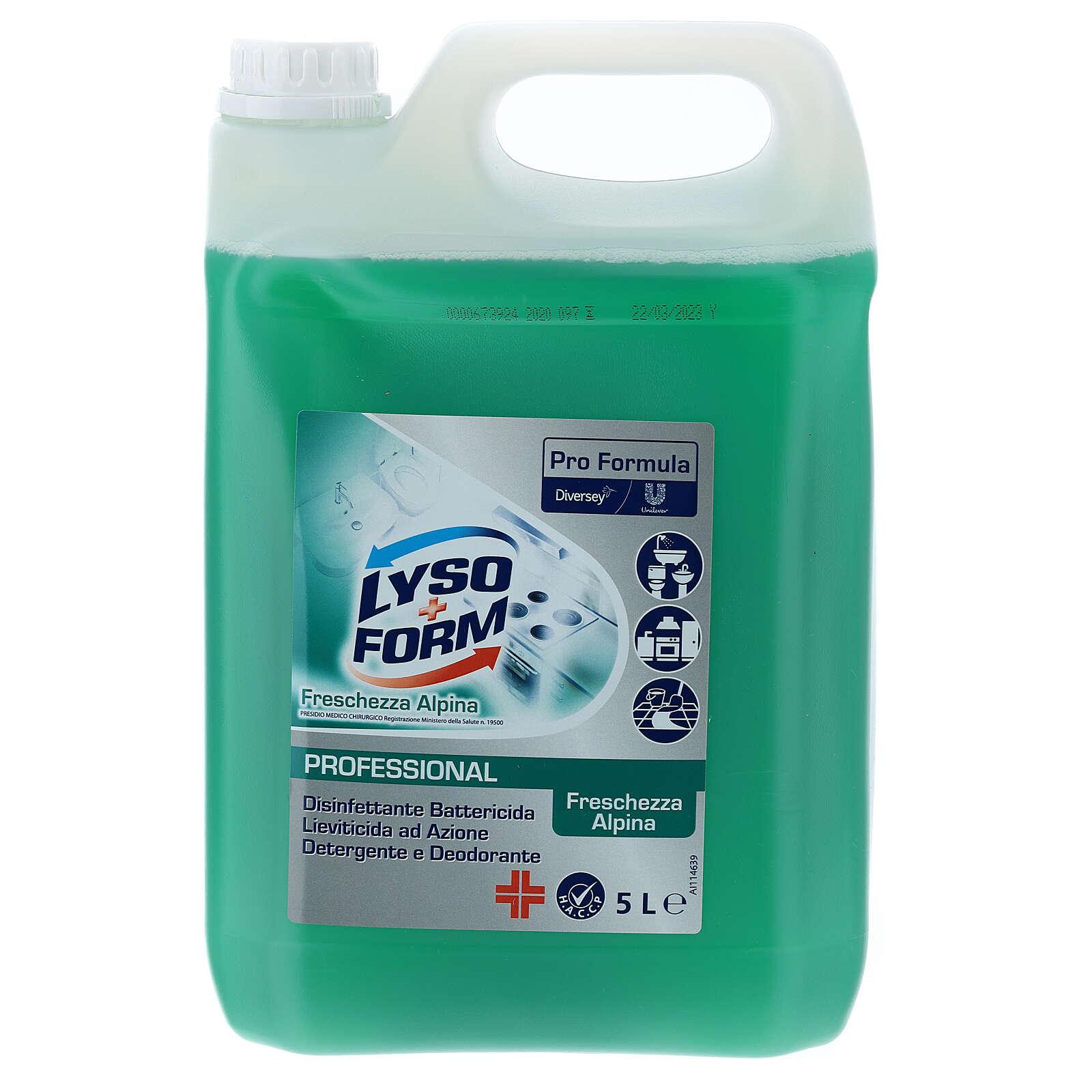 Tanque detergente Pro Formula Lysoform 5 litros 3
