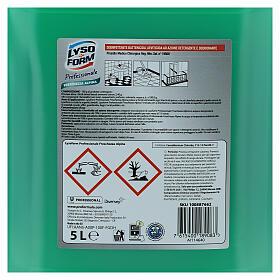 Tanque detergente Pro Formula Lysoform 5 litros s4