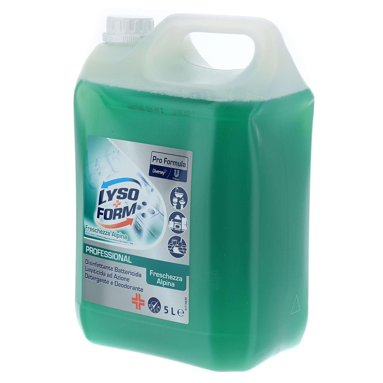 Galãodetergente Pro Formula Lysoform 5 litros 3