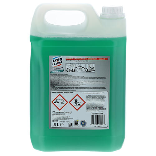 Lysoform multi-purpose cleaner PRO FORMULA 5 liters 3