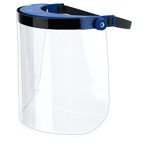 Adjustable face shield protect eyes and face against contagion s1