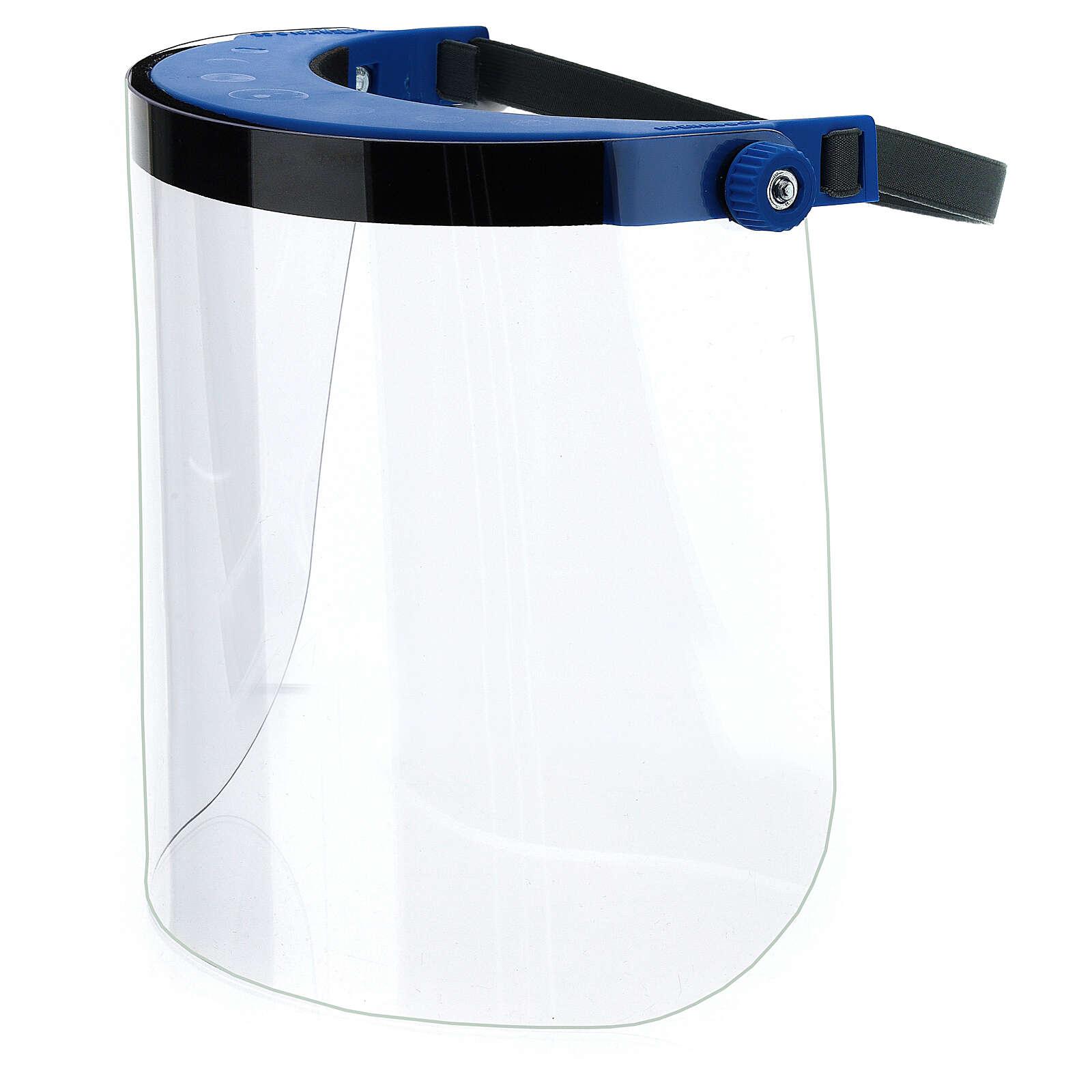 Visiera Protettiva in plastica trasparente anti-contagio 3