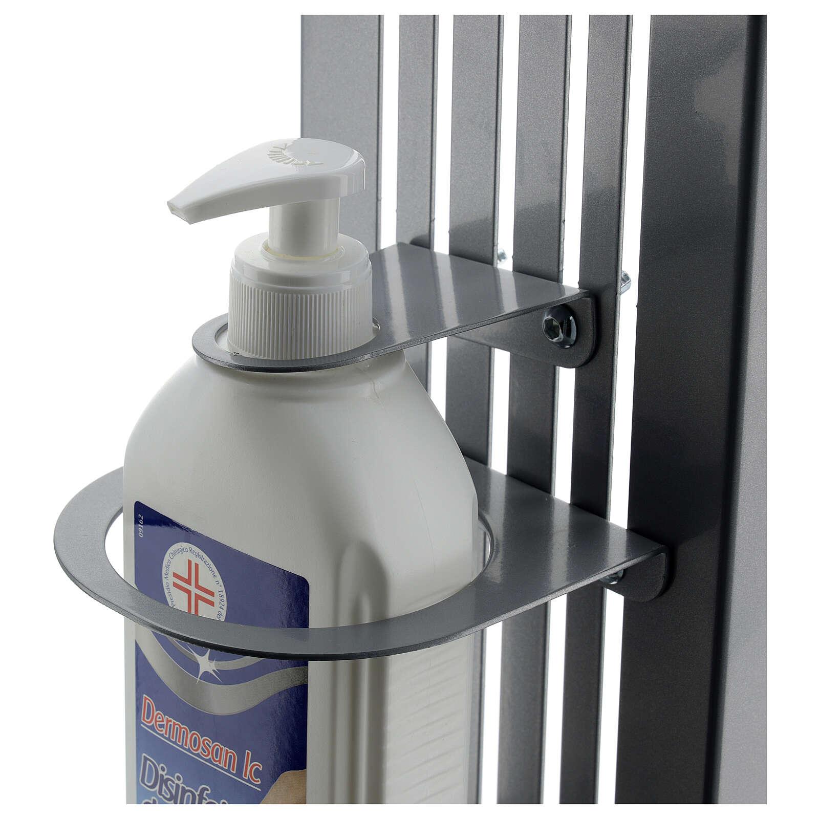 Hände-Desinfektionsmittelspender aus Metall, verstellbar, für AUßENGEBRAUCH 3
