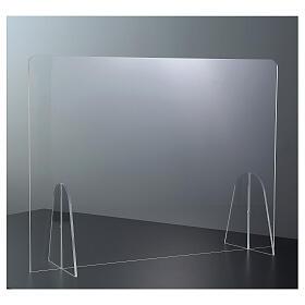 Parafiato protettivo in plexiglass da tavolo h.65x90 cm s2