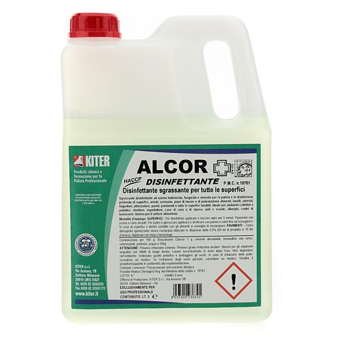 Désinfectant Alcor 3 litres - recharge 1
