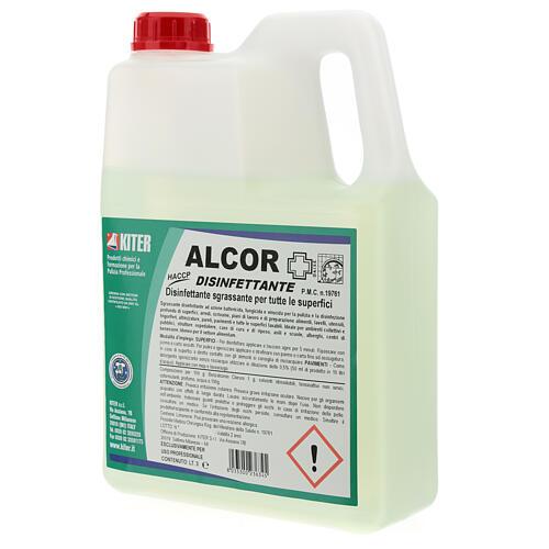 Désinfectant Alcor 3 litres - recharge 3