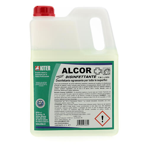 Disinfectant Alcor- 3 liters- Refill 2