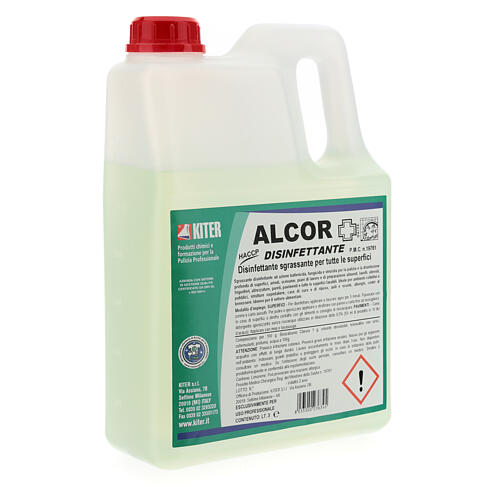 Disinfectant Alcor- 3 liters- Refill 4