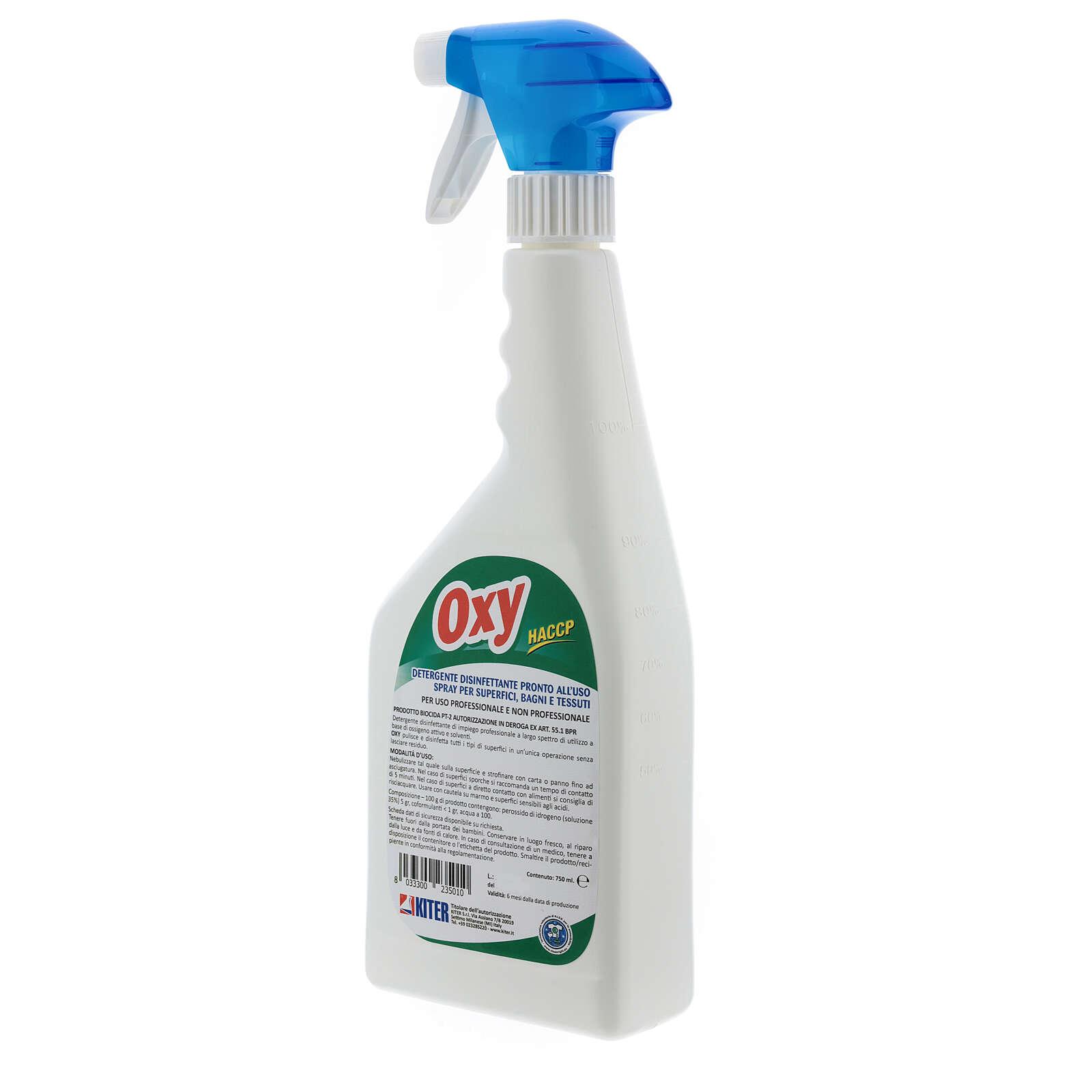 Disinfettante Oxy Biocida spray 750 ml 3