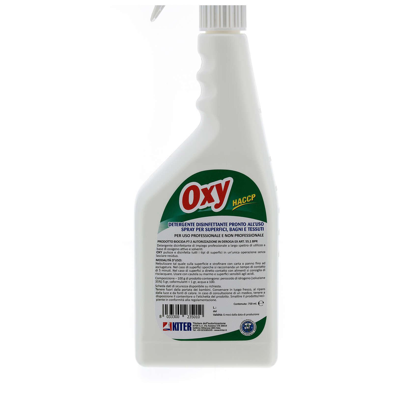 Desinfetante Oxy Biocida pulverizador 750 ml 3