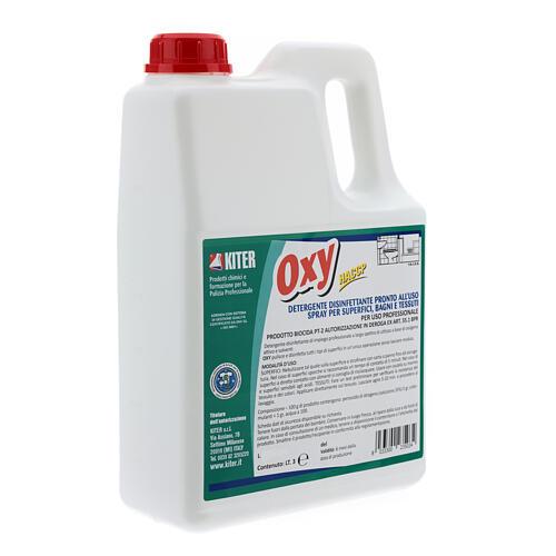 Desinfectante Oxy Biocida 3 Litros - Recarga 3