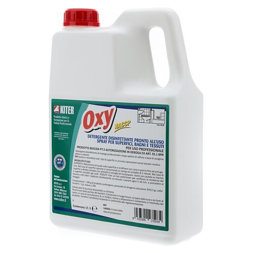 Disinfettante Oxy Biocida 3 Litri - Ricarica 4