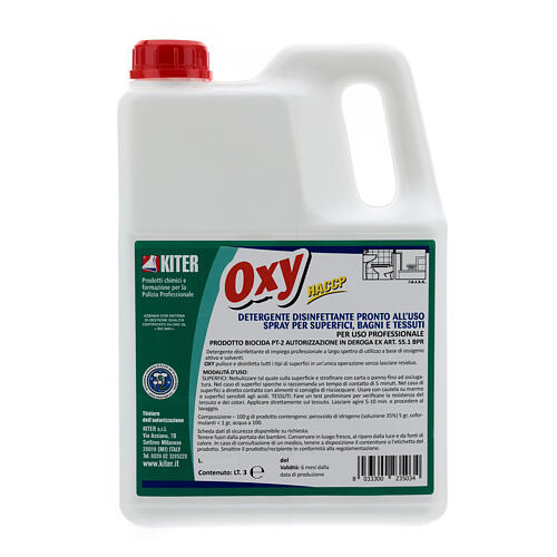 Disinfectatant spray, Oxy Biocide 3 liters- Refill 2