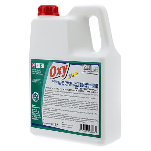 Disinfectatant spray, Oxy Biocide 3 liters- Refill 4
