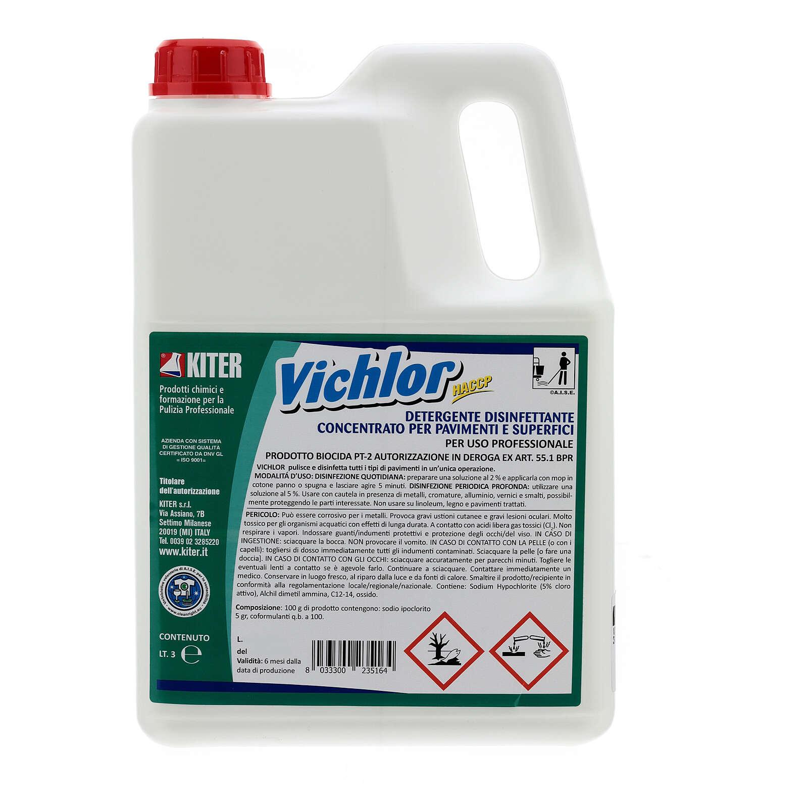 Desinfektionsmittel Vichlor, Biozid, 3 Liter 3