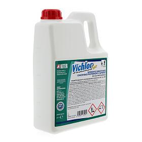 Desinfetante antibacteriano profissional Vichlor, galões de 3 litros s3