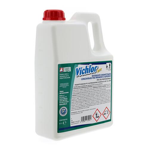 Professional-grade disinfectant, Vichlor biocide 3 Liters 3
