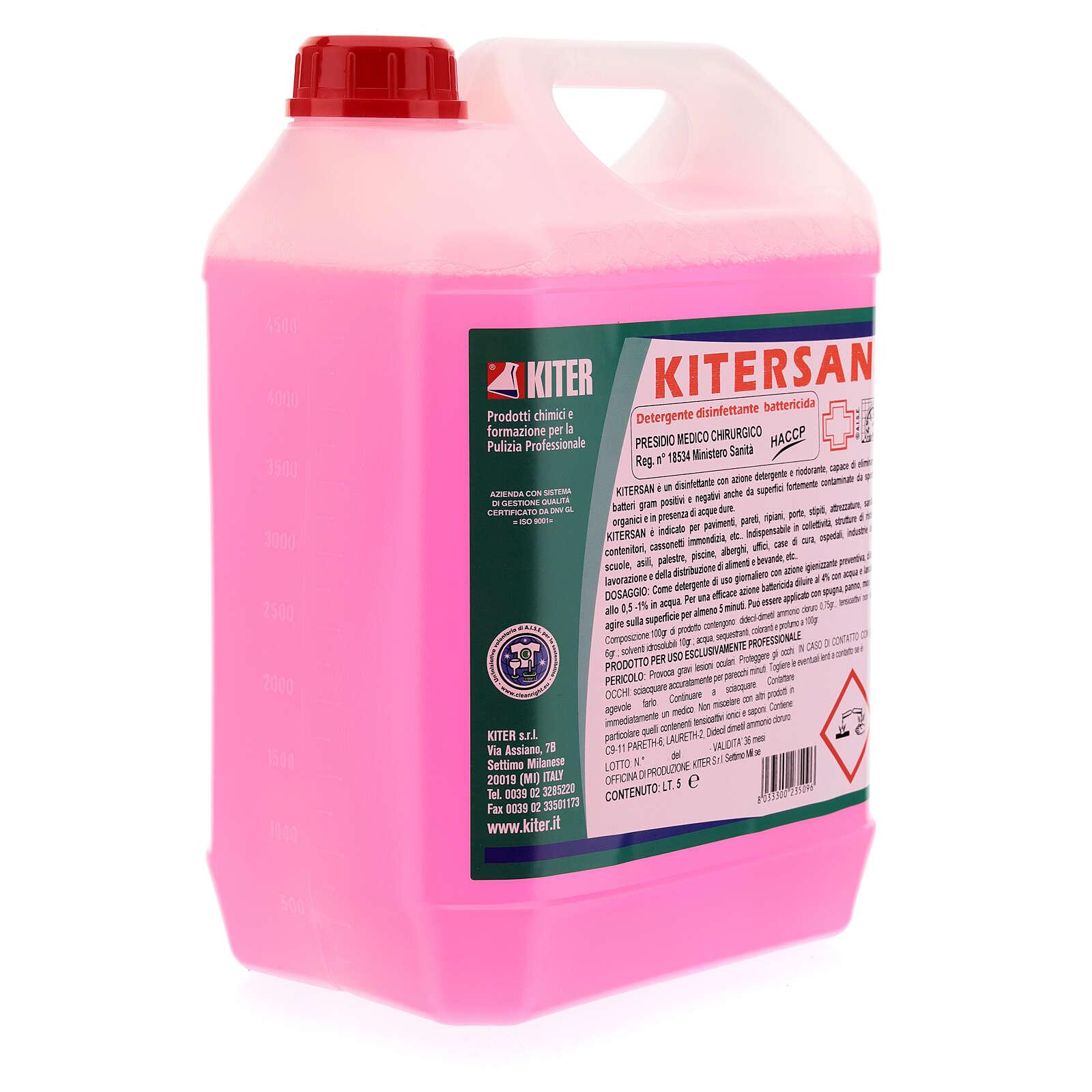Kitersan détergent désinfectant bactéricide 5 litres 3