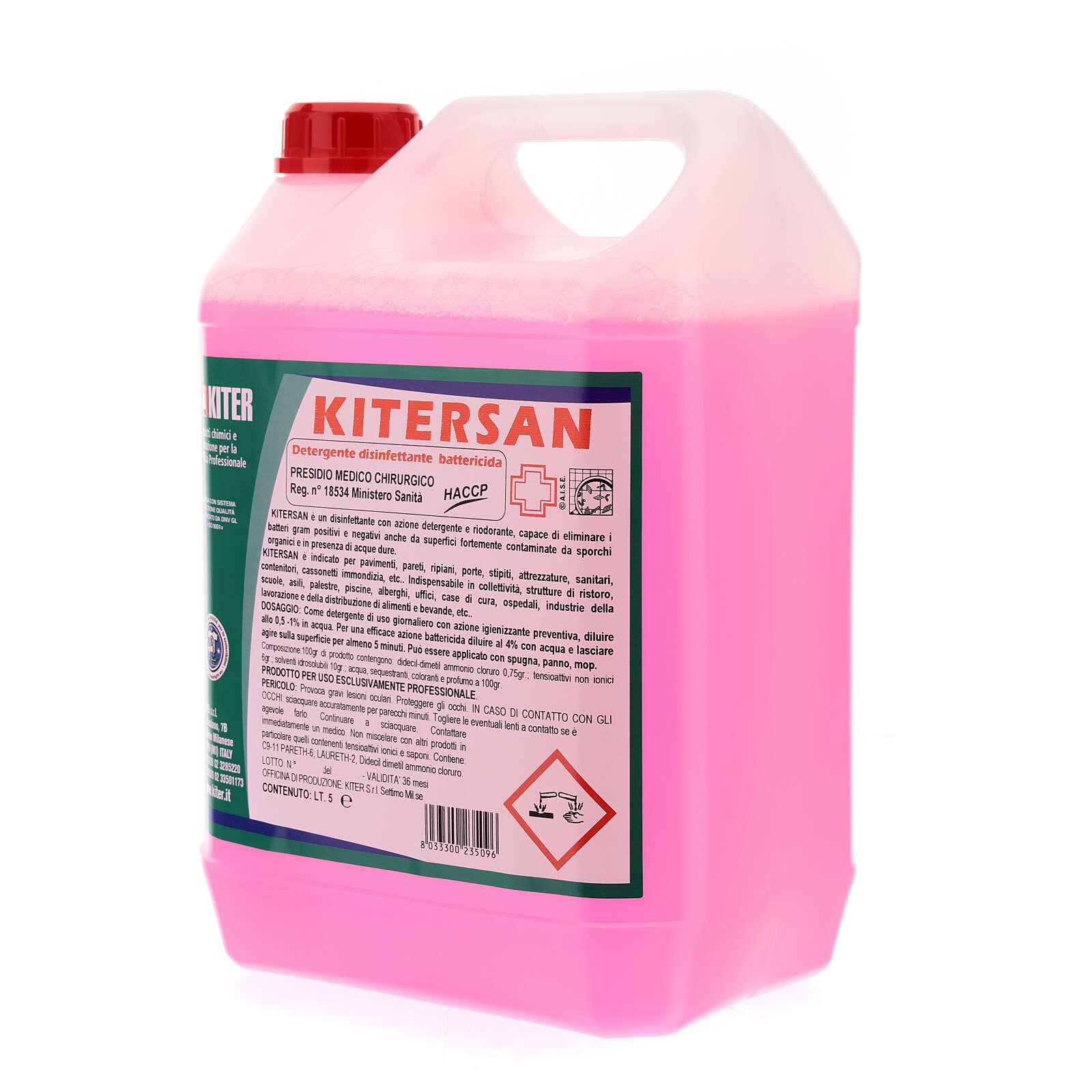 Kitersan detergente disinfettante battericida 5 Litri 3