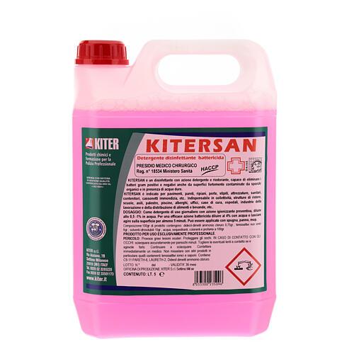 Detergente desinfetante antibacteriano Kitersan, galões de 5 litros 2