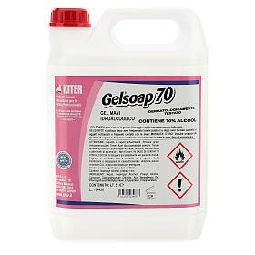Disinfettante mani Gelsoap70 5 Litri - Refill s1