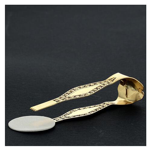 Pinze per ostie argento sterling filigrana XP 10 cm 2