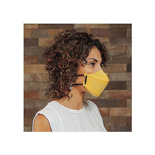 iMask2, Mund- und Nasenschutz, gelb 3
